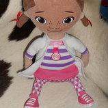 мягкая кукла Дисней доктор Плюшева Doc McStuffins White House Англия оригинал 35 см
