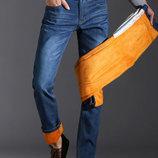 Модные мужские джинсы тёмно-синего цвета 29 30 31 32 33 34 36 38
