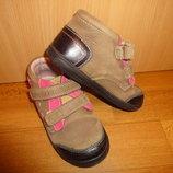 Кожаные деми ботинки 28 р. 17,5 см. Ponte 20 на девочку, осенние, весенние, ботінки, дівчинку, шкіра