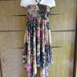 Сарафан, который можно носить и как юбку OSLEY. Размер М l - пойдет на наш 46-48.