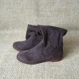 Caprice р.37 чобітки високі текстиль оригінал