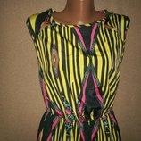 Яркое платье макси River Island р-р10