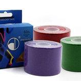 Кинезио тейп эластичный пластырь Kinesio tape 4863-5 длина 5м, ширина 5см