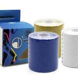 Кинезио тейп эластичный пластырь Kinesio tape 4863-7,5 длина 5м, ширина 7,5см