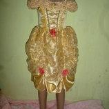 платье золушки на 4-6 лет