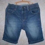 джинсовые шорты George 3-4 г. 98-104 см 100% котон
