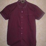 рубашка тениска George 9-10 лет 135 -140 см