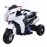 Детский Мотоцикл T-7213 WHITE 6V7AH мотор 2 х 20W