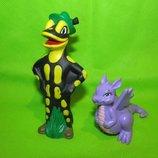 дракон и саламандра