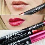 Матовая металлическая губная помада Golden Rose Metals Matte Metallic Crayon