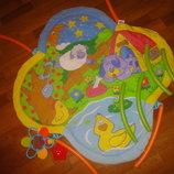 Музыкальный развивающий коврик Biba Toys, игрушки, розвиваючий, немовлят, мобиль, подвеска