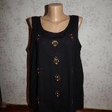 блузка шифоновая стильная модная р16