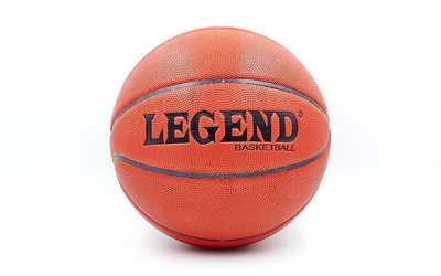 Мяч баскетбольный Legend Action 5666 размер 7, TPU, бутил