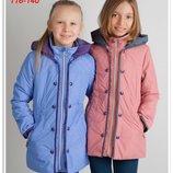 Демисезонная куртка для девочки, размер 116-140, арт. В1088,21