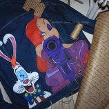 джинсовая куртка с ручной росписью Под Заказ 1-3 Дня