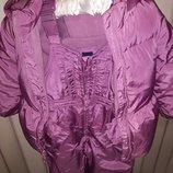 Очень теплая куртка и штаны Gap для девочки 3-4 годика