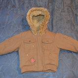 Теплая и стильная курточка, фирма Next