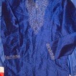 Нарядная брендовая мусульманская восточная курта рубашка бренд TX-Juice.хл .