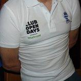 Спортивная фирменная футболка тениска поло бренд Fruit of the Loom .s-m
