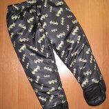 Штаны Batman размер 9-12 мес. Рост 74-80 см.