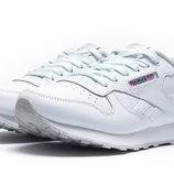 Кроссовки женские Reebok Classic,кожа,белый