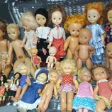Цена за все.коллекция ретро кукол.Винтажная коллекционная кукла наталья ссср,старинная,кадер,дзи,пуп