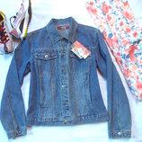 пиджак джинс новый с биркой,размер L Miss Edita
