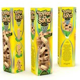 Настольная игра деревянная вега на песке Tower on the sand 54 бруска Danko toys ST-01 джанга башня д