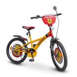 Велосипед 2-х колес 20'' 112001 Ferrari со звонком,зеркалом,с подножкой