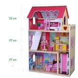 Игровой кукольный домик для барби 4120 Roseberry лифт 2 куклы Польша. 12