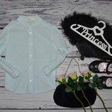 3 - 4 года 104 см H&M Рубашка блузка блуза для модницы полоска