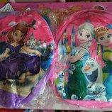 Мягкий рюкзак с принцессой софией и фроузен, в ассортименте