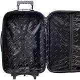 Набор чемоданов Bonro Lux 3 штуки красный-т.синий