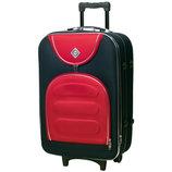 Набор чемоданов Bonro Lux 3 штуки т.синий-красный