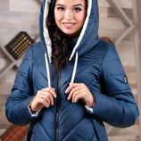 Размеры 44-56 Теплая зимняя удлиненная женская куртка