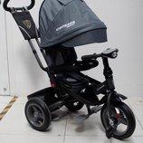 Кроссер Тринити Эко Т400 трехколесный велосипед-коляска Azimut Crosser T-400 надувные колеса
