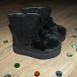 Ботиночки с ушками для маленьких модняшек
