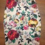 юбка с цветами супер