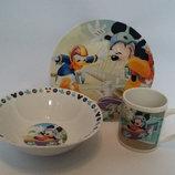 Детский набор посуды Микки Маус