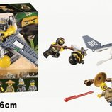 Конструктор Bela 10716 Ninjago Movie Бомбардировщик Морской дьявол 365 дет. аналог Lego Ninjago Movi