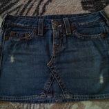 Стильна Оригинальная джинсовая юбка