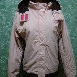 Куртка лыжная с капюшоном
