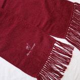 Мягенький и теплый шарф из шерсти альпаки 30% альпаки, 70% акрил р.168см 23см