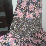 16 р Next очень легкое платье 100% хлопок