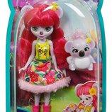 Кукла Карина Коала Энчантималс 15 см Mattel Enchantimals Karina Koala Doll FCG64