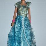 новая кукла барби в платье с короной и расческа оригинал сша