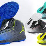 Мужские баскетбольные кроссовки Jordan 8508 обувь для баскетбола , 4 цвета 41-45 размер, PU