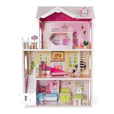 Игровой кукольный домик California 4107 wog 124см Польша. 12