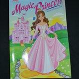 новая раскраска kappa activity book magic princess оригинал сша
