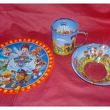 Наборы посуды для деток стекло